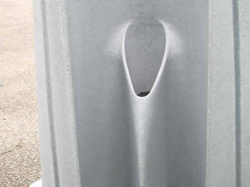 Vue détail urinoir Axe Environnement