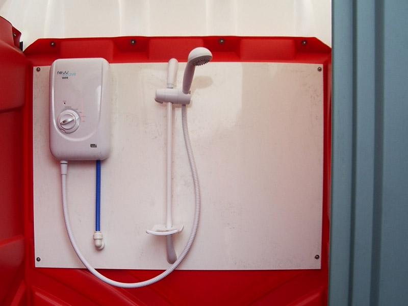 Intérieur cabine douche Axe Environnement