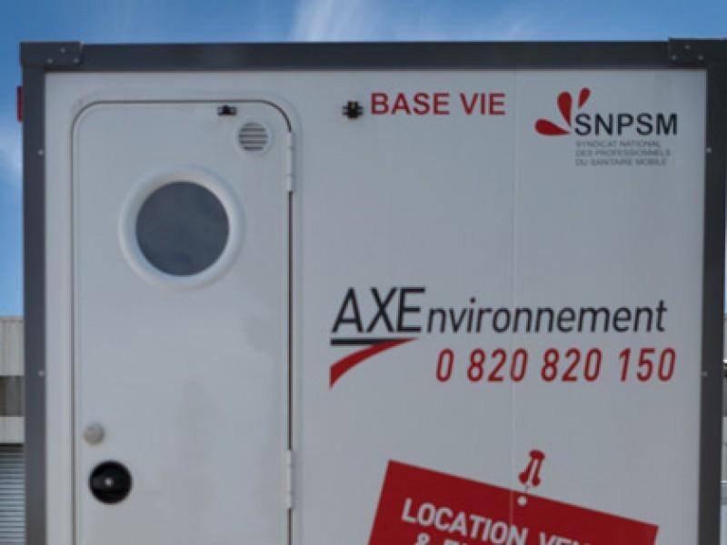 axe environnement base vie