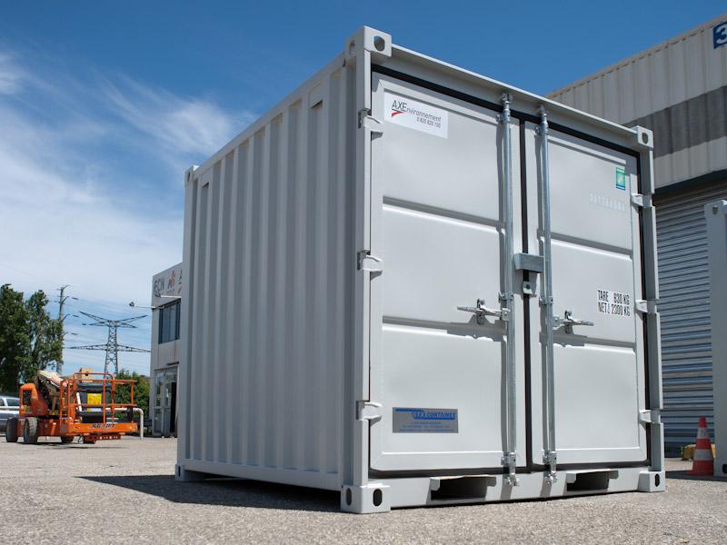 container axe environnement