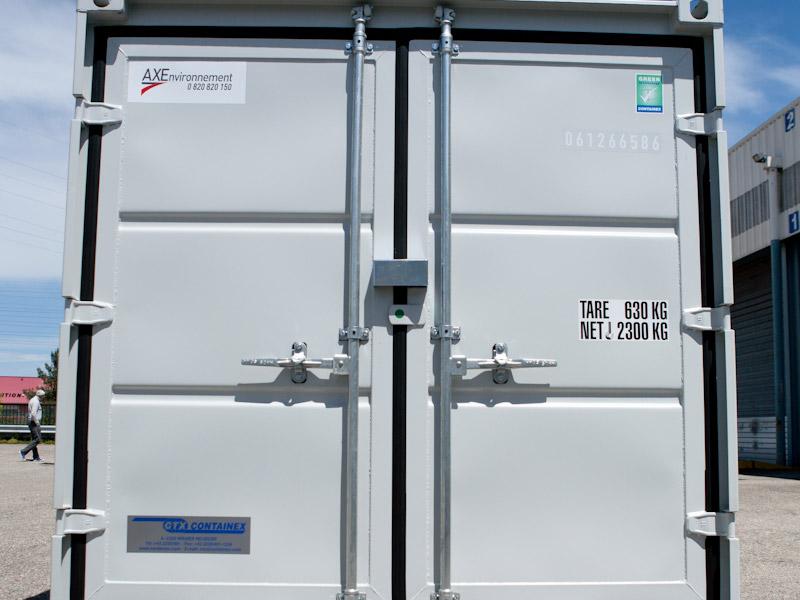 container dos axe environnement