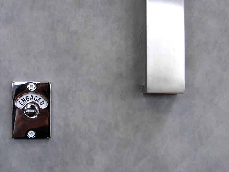 porte sanitaire gamme zinc axe