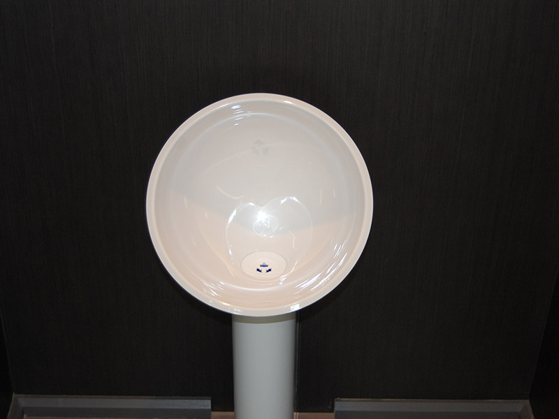 urinoir gamme zinc axe