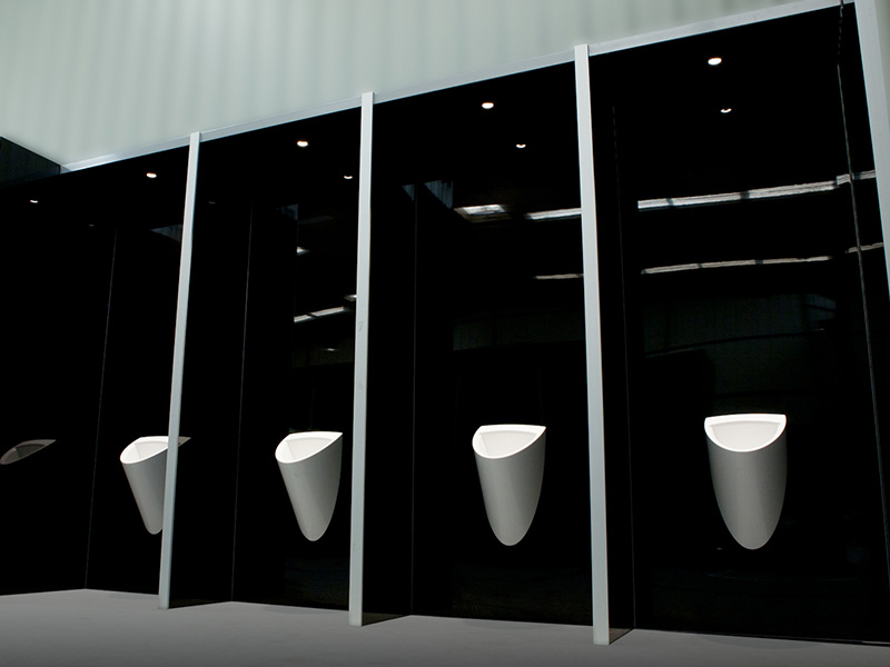 urinoirs gamme prestige axe environnement
