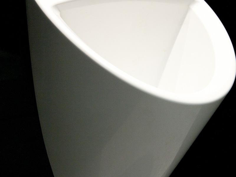 détail d'un urinoir axe environnement