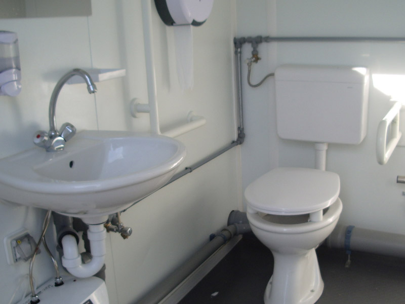 Bungalow WC Axe environnement