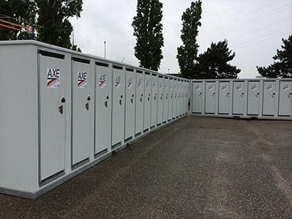 produit AXE BTP - Modèle 8 WC