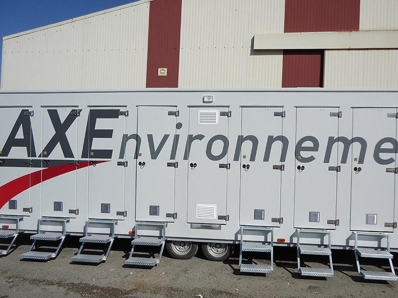 douches axe environnement